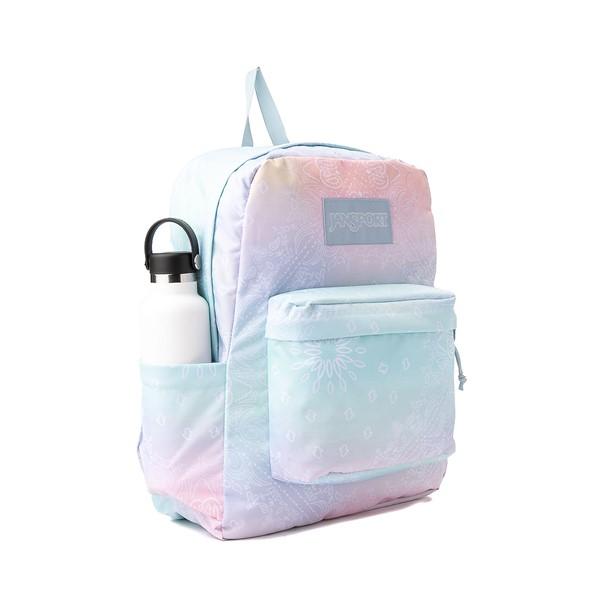alternate view JanSport Superbreak Plus Backpack - Cowboy KerchiefALT4B