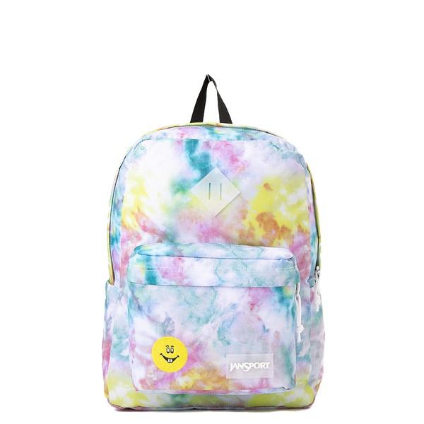Main view of JanSport Superbreak Plus FX Get Out Tie Dye Backpack - Multi