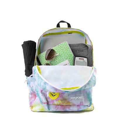 Alternate view of JanSport Superbreak Plus FX Get Out Tie Dye Backpack - Multi