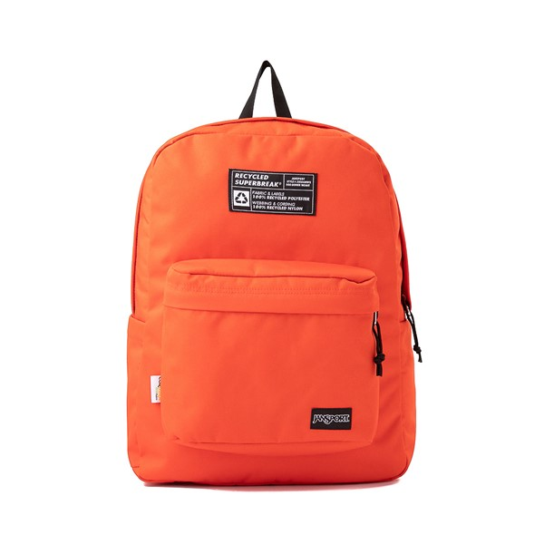 Main view of JanSport Superbreak Recycle Backpack - Red