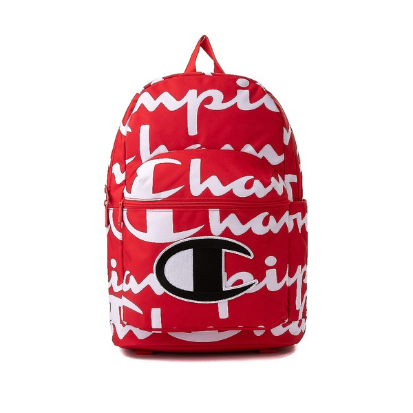 Main view of Champion SuperCize Backpack - Red / White