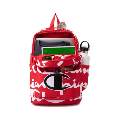 Alternate view of Champion SuperCize Backpack - Red / White