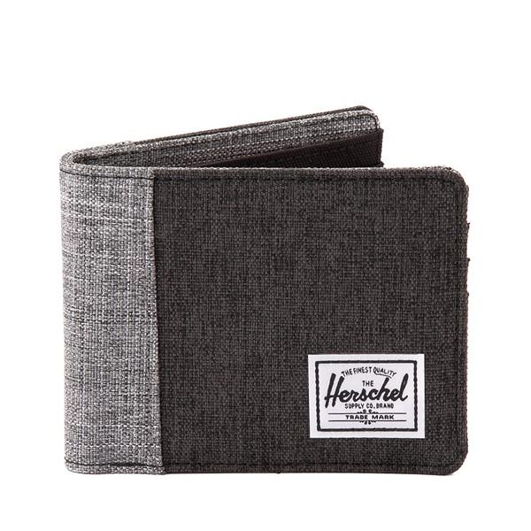 Main view of Herschel Supply Co. Roy Wallet - Black / Grey