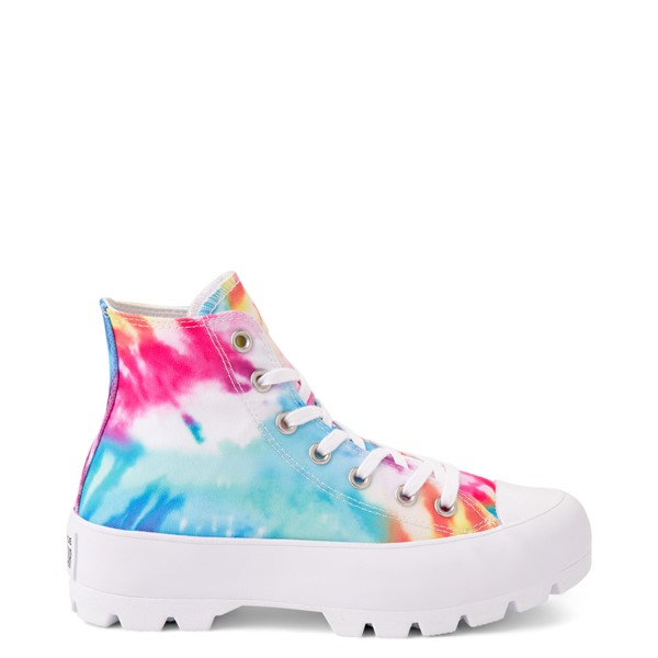 Main view of Womens Converse Chuck Taylor All Star Hi Lugged Sneaker - Tie Dye