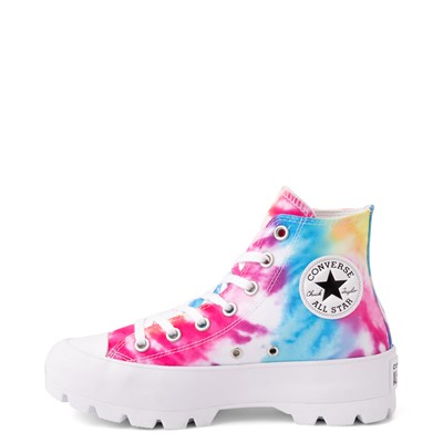 Alternate view of Womens Converse Chuck Taylor All Star Hi Lugged Sneaker - Tie Dye