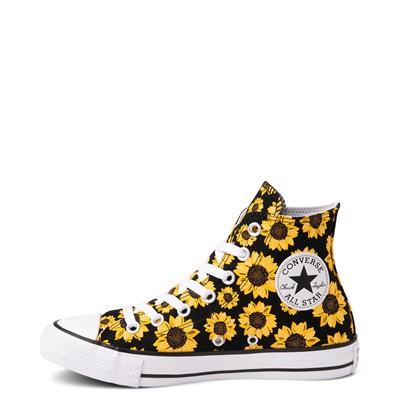 Alternate view of Converse Chuck Taylor All Star Hi Sunflower Sneaker - Black
