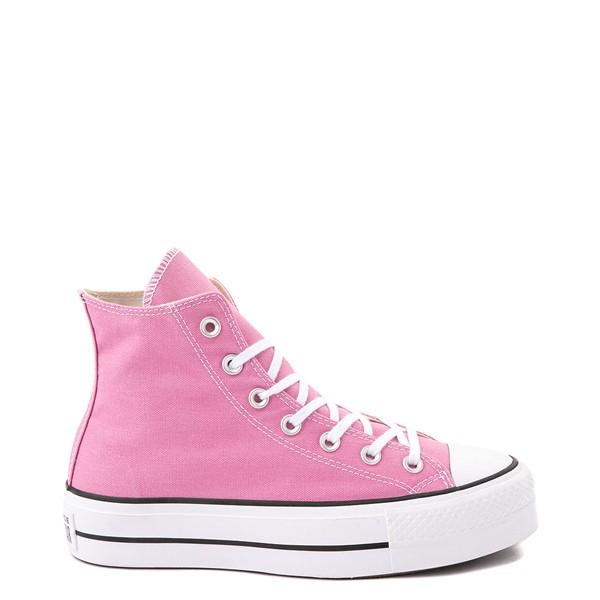 Main view of Womens Converse Chuck Taylor All Star Hi Lift Sneaker - Magic Flamingo