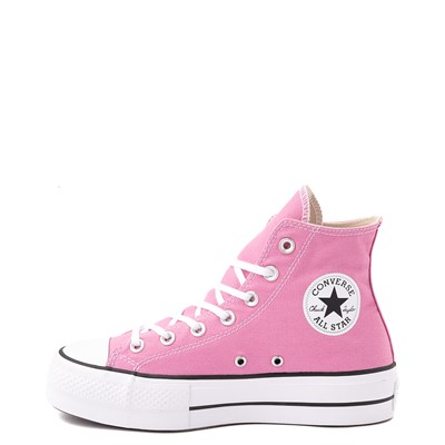 Alternate view of Womens Converse Chuck Taylor All Star Hi Lift Sneaker - Magic Flamingo