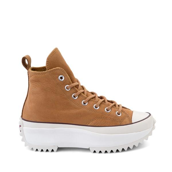 Main view of Converse Run Star Hike Leather Platform Sneaker - Wheat