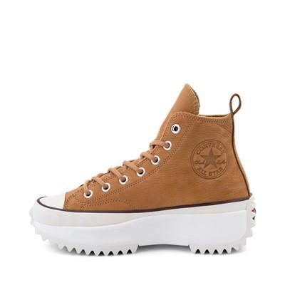Alternate view of Converse Run Star Hike Leather Platform Sneaker - Wheat