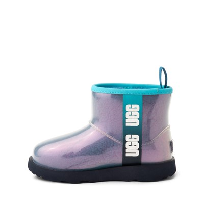 Alternate view of UGG® Classic Clear Mini II Boot - Toddler / Little Kid / Big Kid - Blue / Multicolor