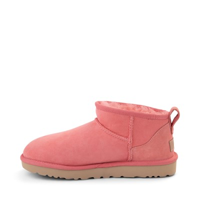 Alternate view of Womens UGG® Classic Ultra Mini Boot - Pink Blossom