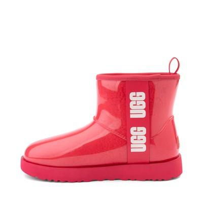 Alternate view of Womens UGG® Classic Clear Mini II Boot - Hibiscus