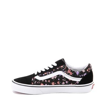 Alternate view of Vans Old Skool Ditsy Floral Skate Shoe - Black