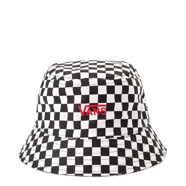 Main view of Vans Hankley Checkerboard Bucket Hat - Black / White