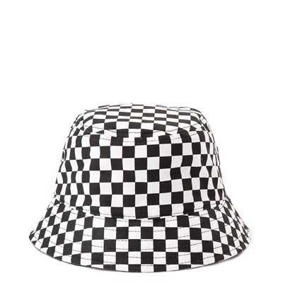 Alternate view of Vans Hankley Checkerboard Bucket Hat - Black / White