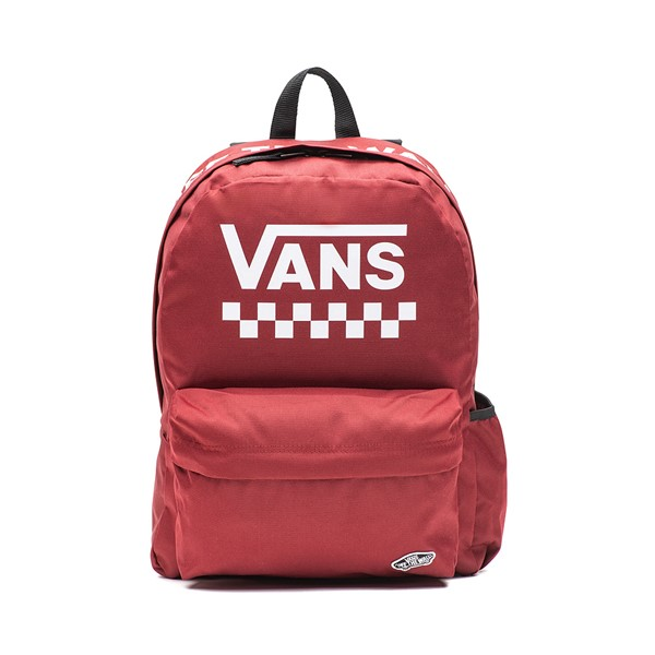 Main view of Vans Street Sporty Realm Backpack - Pomegranate