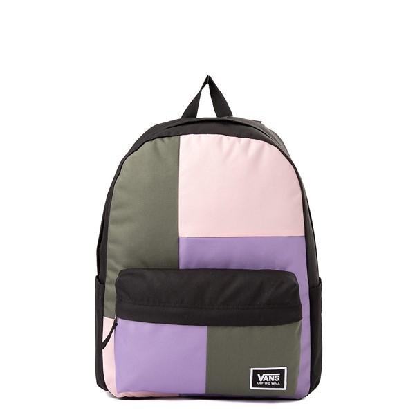 Main view of Vans Old Skool Water Color Patch Backpack - Multi