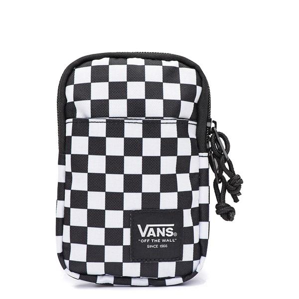 Main view of Vans Call Waiting Lanyard - Black / White Checkerboard