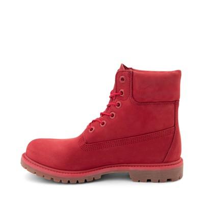 "Alternate view of Womens Timberland 6"" Premium Boot - Ruby Red"