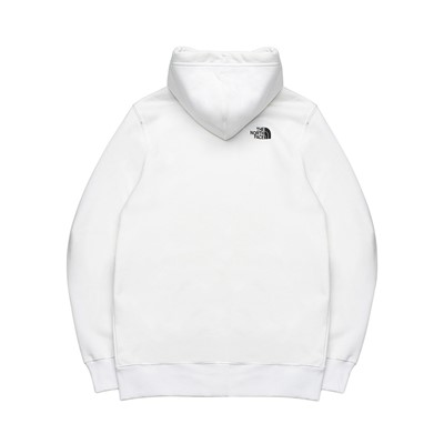 Alternate view of Mens The North Face Fine Hoodie - White