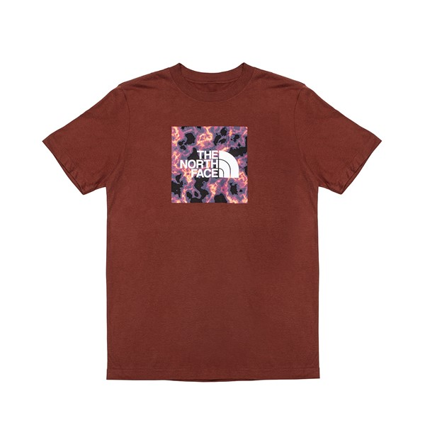Main view of Mens The North Face Boxed In Tee - Brick Red
