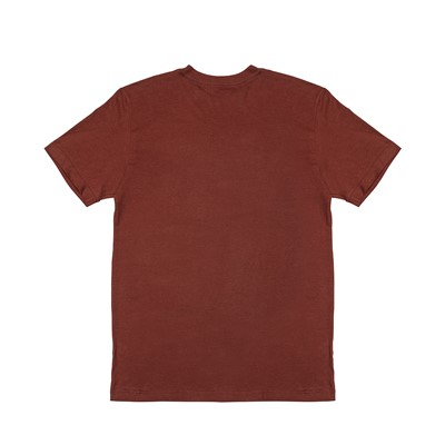 Alternate view of Mens The North Face Boxed In Tee - Brick Red
