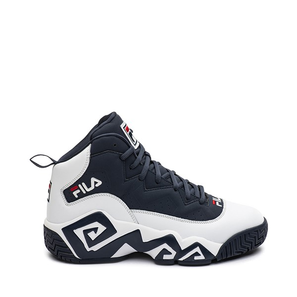 Main view of Mens Fila MB Athletic Shoe - White / Navy