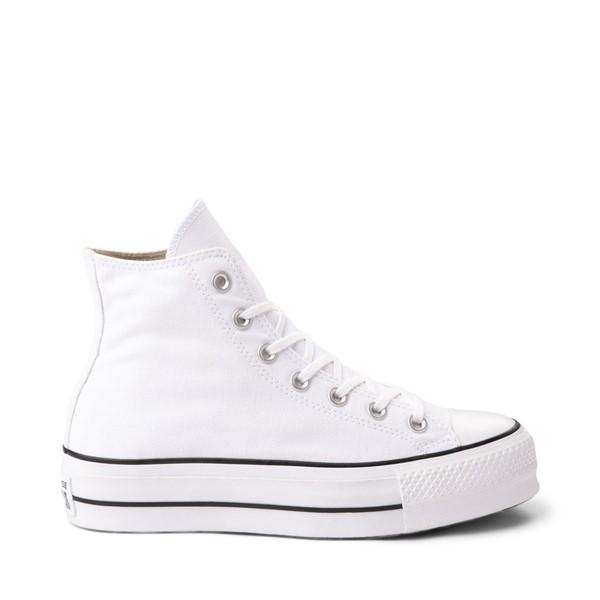 Main view of Womens Converse Chuck Taylor All Star Hi Lift Sneaker - White