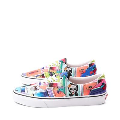 Alternate view of Vans Loteria Era Skate Shoe - Patchwork Multicolor